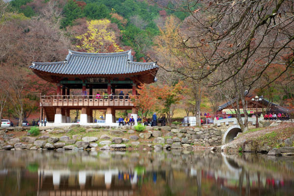 Bell Rock Photograph - Baekyangsa Temple Korea by By Bell Chan