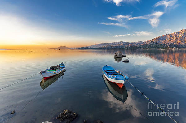 Wall Art - Photograph - Bafa Lake, Turkey by Nejdet Duzen