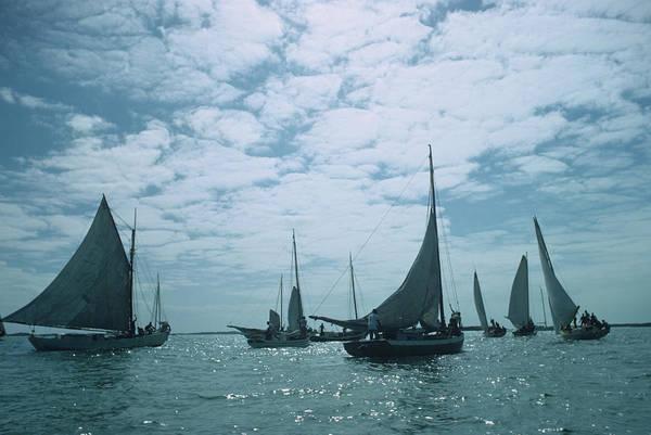 Photograph - Bahamas Sailing by Slim Aarons