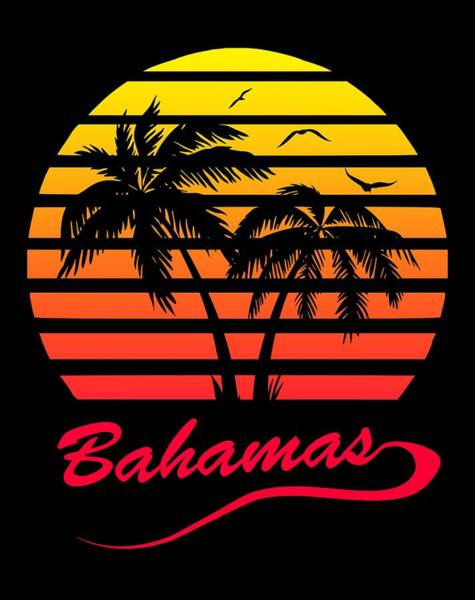 Wall Art - Digital Art - Bahamas Sunset by Filip Hellman