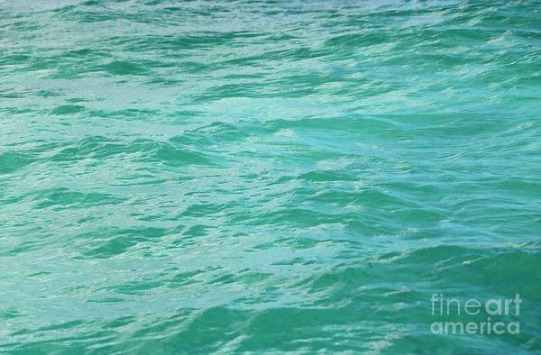 Wall Art - Photograph - Bahamas Turquoise Water by Carol Groenen