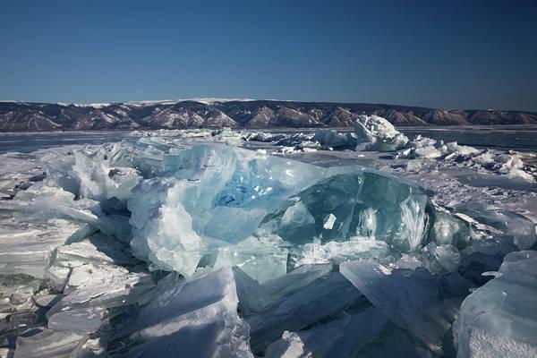 Underwater Scene Photograph - Baikal Ice by Nature, Underwater And Art Photos. Www.narchuk.com