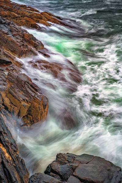 Photograph - Bailey Island Awash by Rick Berk