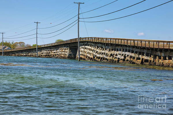 Photograph - Bailey Island Bridge - Harpswell Maine by Erin Paul Donovan