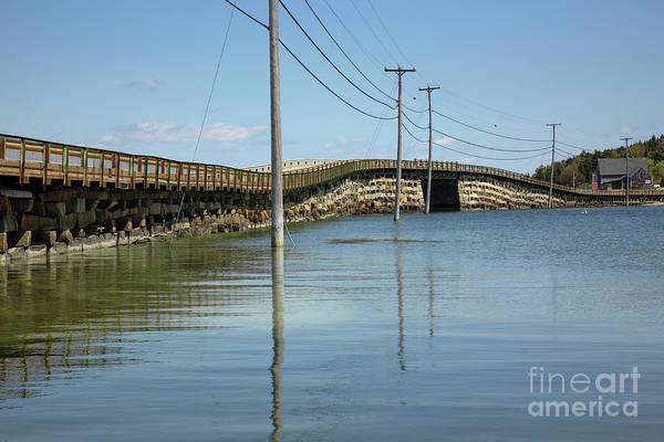Photograph - Bailey Island Bridge - Harpswell Maine Usa by Erin Paul Donovan