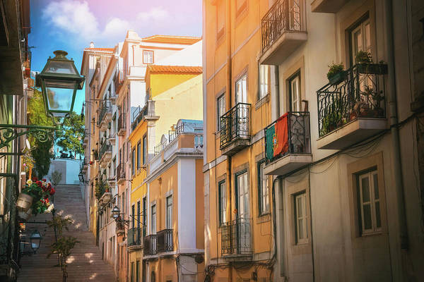 Wall Art - Photograph - Bairro Alto Lisbon Portugal  by Carol Japp