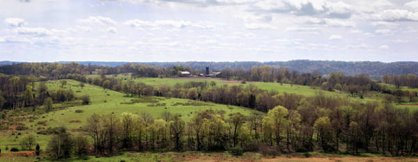 Photograph - Baker Bluff Overlook Panorama  by Susan Rissi Tregoning