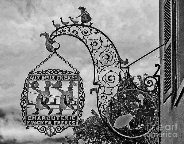 Wall Art - Photograph - Bakers Sign In Amsterdam by Linda Carol Case