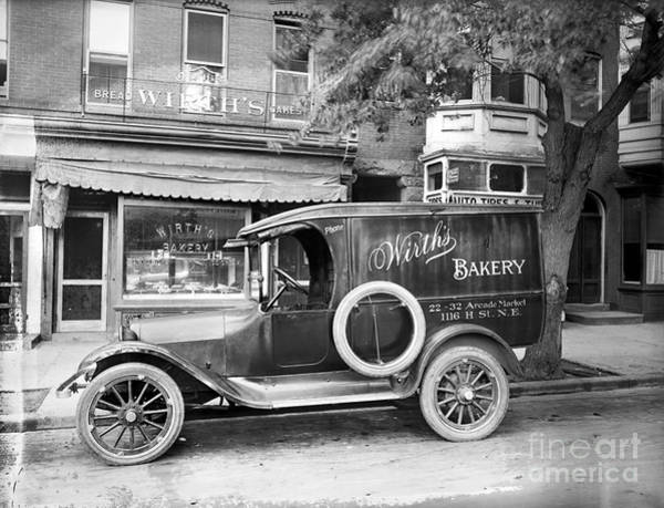 Wall Art - Photograph - Bakery Car, C1915 by Granger