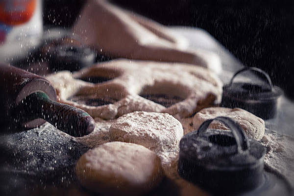 Wall Art - Photograph - Baking Biscuits  by Marnie Patchett