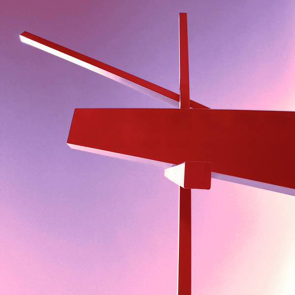 Wall Art - Photograph - Balance Beam Rise Of Abstraction by William Dey