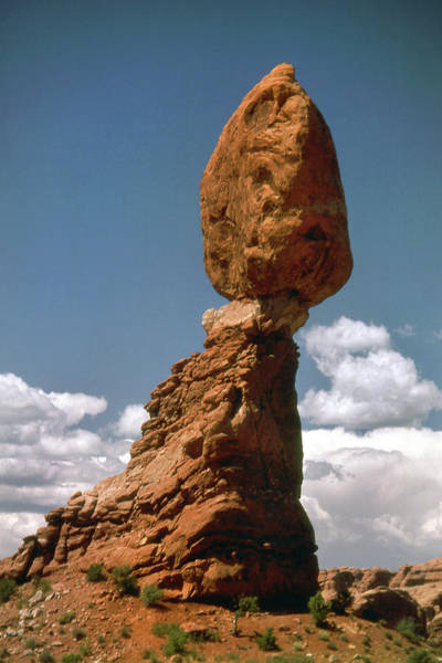 Wall Art - Photograph - Balanced Rock by Jerry Griffin