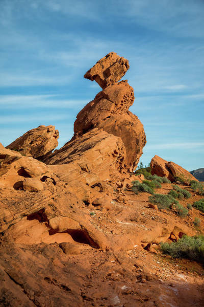 Photograph - Balanced Rock by Rikk Flohr