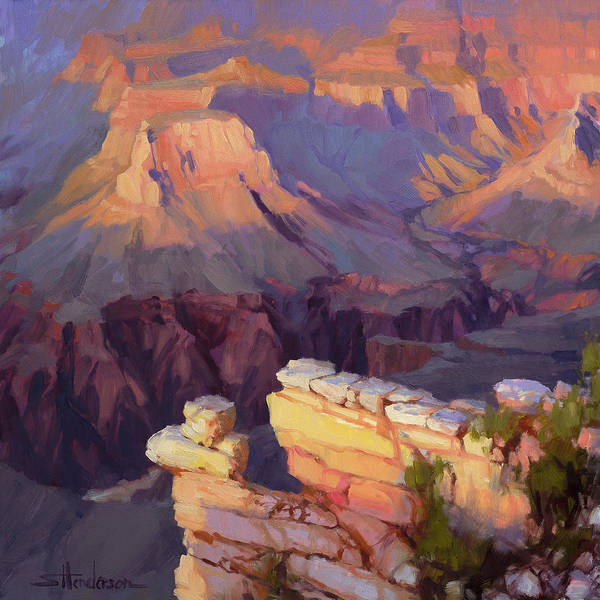 Wall Art - Painting - Balancing Act by Steve Henderson
