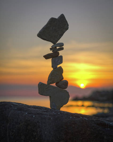 Balancing Art #12 Art Print