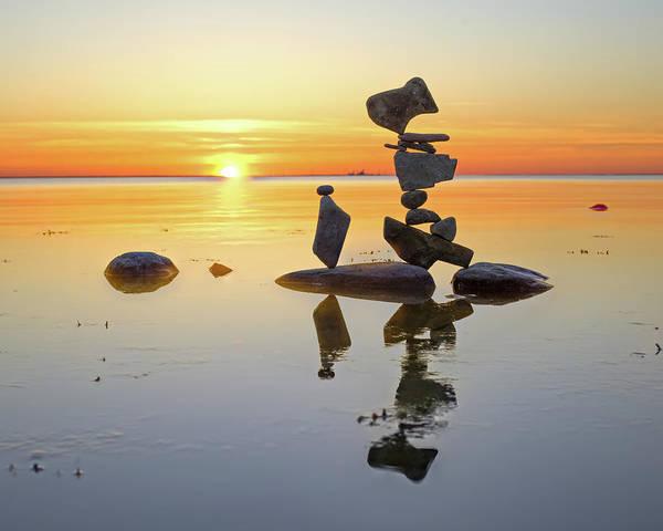 Balancing Art #14 Art Print