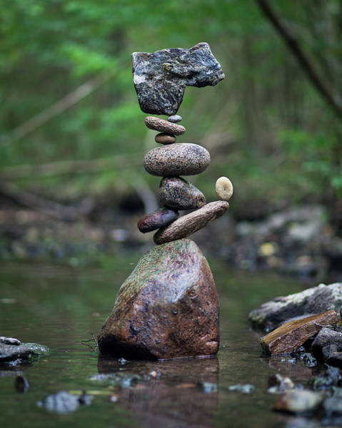 Balancing Art #18 Art Print