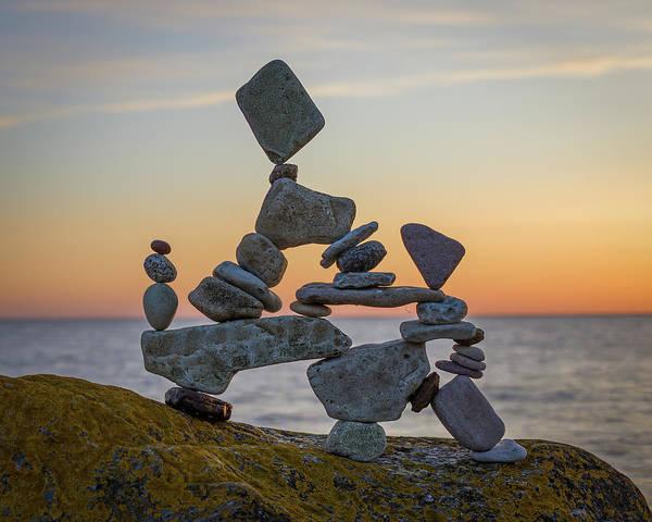 Balancing Art #2 Art Print