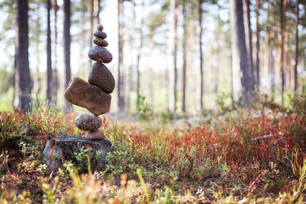 Balancing Art #20 Art Print