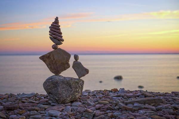 Balancing Art #21 Art Print