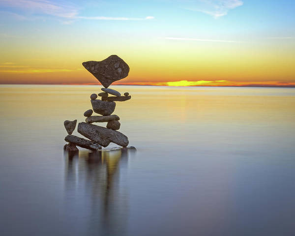 Balancing Art #22 Art Print