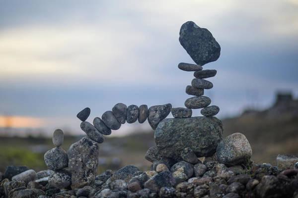 Balancing Art #25 Art Print