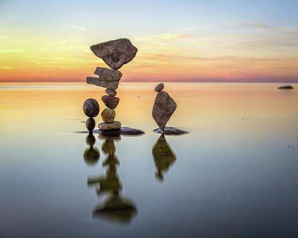 Balancing Art #26 Art Print