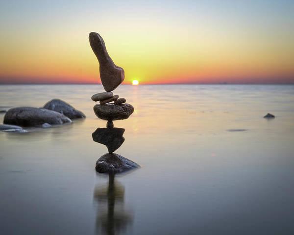 Balancing Art #3 Art Print