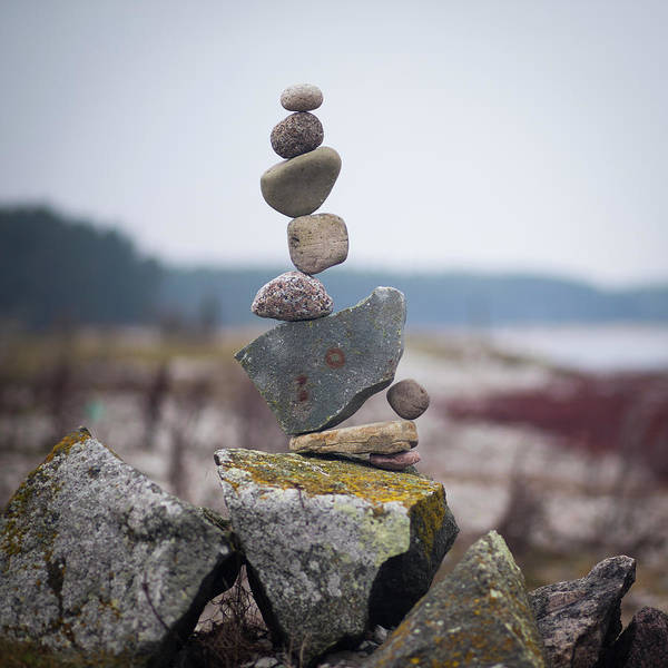 Balancing Art #30 Art Print