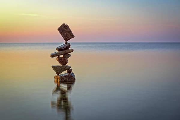 Balancing Art #4 Art Print