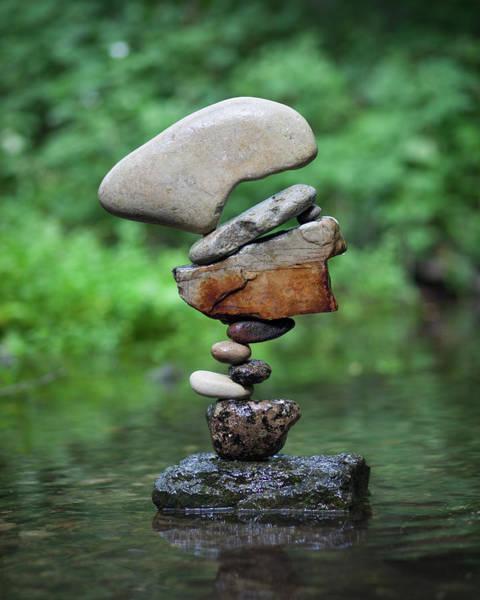 Balancing Art #40 Art Print