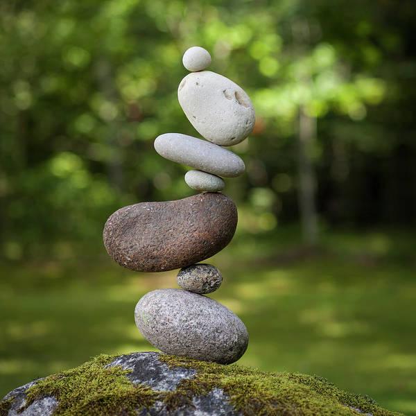 Balancing Art #41 Art Print