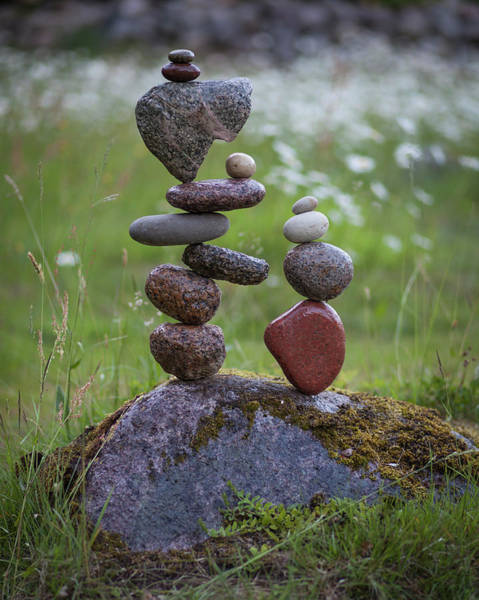 Balancing Art #45 Art Print