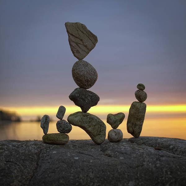 Balancing Art #5 Art Print