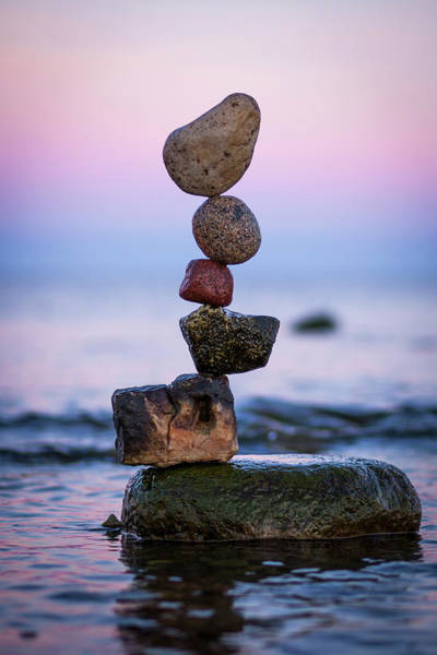 Balancing Art #51 Art Print