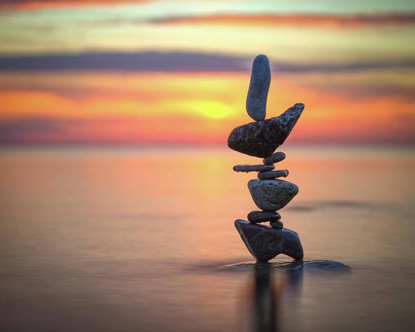 Balancing Art #6 Art Print