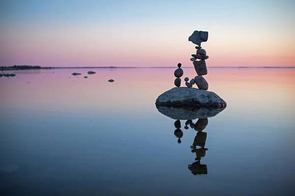 Balancing Art #65 Art Print