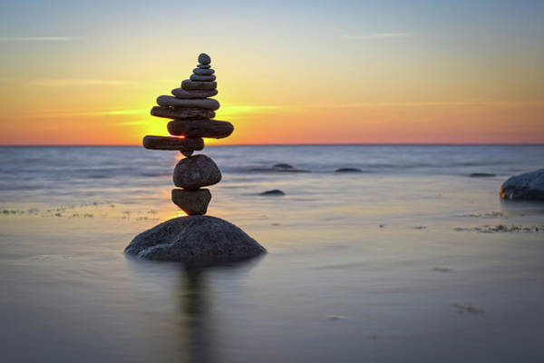 Balancing Art #8 Art Print