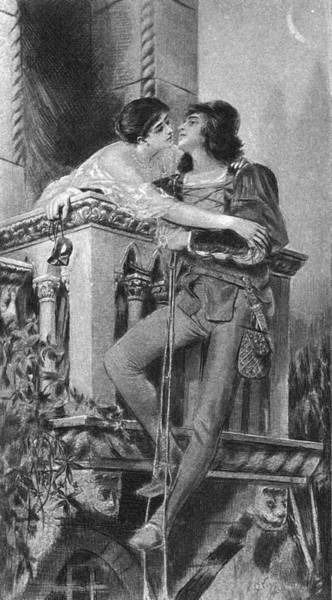 Romeo And Juliet Wall Art - Photograph - Balcony Scene by Kean Collection