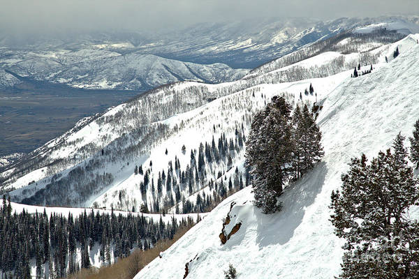 Photograph - Bald Mountain Expert Slopes by Adam Jewell