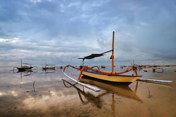 Fishing Boat Photograph - Bali - Traditional Fishing Boat by Fiftymm99