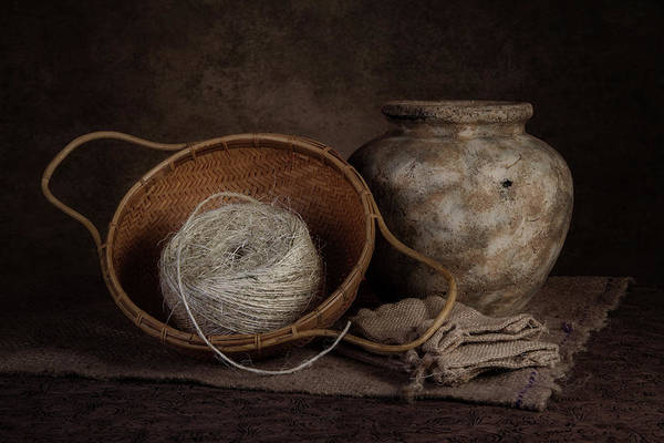 Bag Wall Art - Photograph - Ball Of Twine by Tom Mc Nemar
