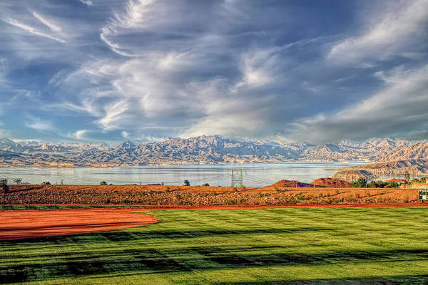 Wall Art - Photograph - Ball Park Overlooking Lake Mead by Donna Kennedy