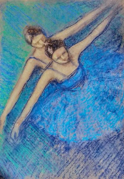 Wall Art - Painting - Ballerina by Asha Sudhaker Shenoy