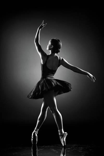 Wall Art - Photograph - Ballerina Dancing by Johan Swanepoel