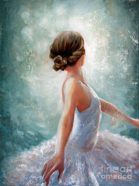Painting - Ballerina Dazzle by Michael Rock