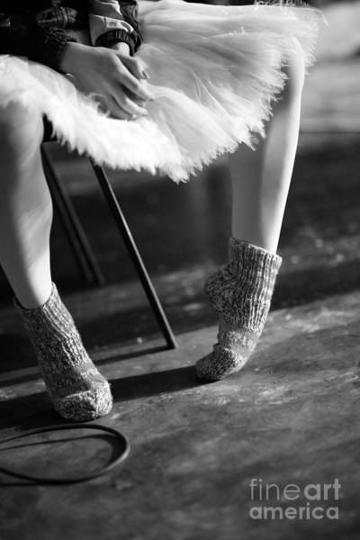 Young Adult Wall Art - Photograph - Ballerina Getting Ready To The by Anna Jurkovska