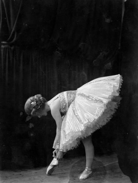 Bending Photograph - Ballerina by Hulton Collection