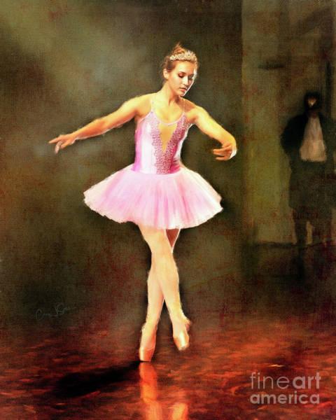 Photograph - Ballerina In Pink by Craig J Satterlee