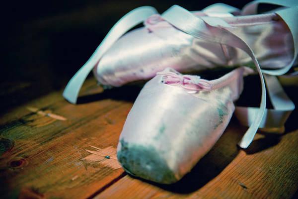 Shoe Photograph - Ballerina Shoes by Naphtalina